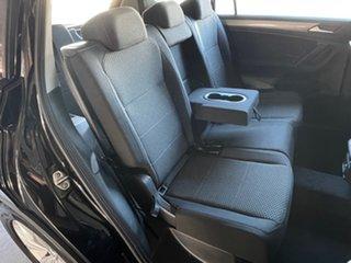 2020 Volkswagen Tiguan 5N MY21 110TSI Comfortline DSG 2WD Allspace Black 6 Speed