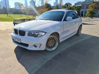 2011 BMW 1 Series E82 LCI MY11 120i Steptronic White 6 Speed Sports Automatic Coupe.