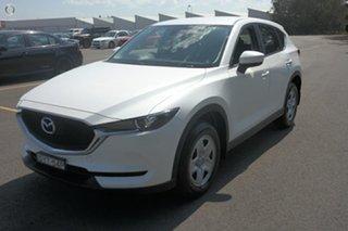 2018 Mazda CX-5 KF2W7A Maxx SKYACTIV-Drive FWD White 6 Speed Sports Automatic Wagon.