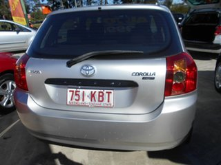 2007 Toyota Corolla ZZE122R 5Y Ascent Silver 4 Speed Automatic Hatchback
