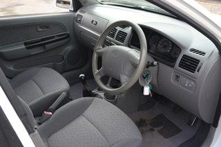 2004 Kia Rio MY04 LS White 5 Speed Manual Hatchback