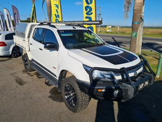 2017 Holden Colorado RG MY17 Z71 Pickup Crew Cab White 6 Speed Sports Automatic Utility.