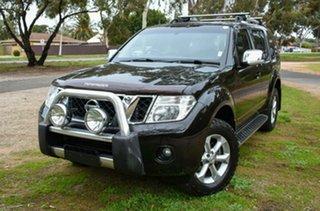 2012 Nissan Pathfinder R51 MY10 ST-L Black 6 Speed Manual Wagon.