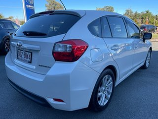 2015 Subaru Impreza G4 MY15 2.0i Lineartronic AWD Pearl White 6 Speed Constant Variable Hatchback