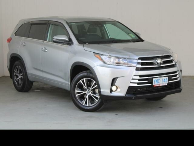 Used Toyota Kluger Gungahlin, 2018 Toyota Kluger Silver Automatic Wagon