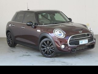 2018 Mini 5D Hatch F55 MY17 Cooper S Red 6 Speed Automatic Hatchback