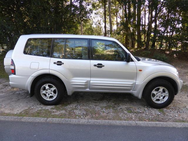 Used Mitsubishi Pajero NM GLS LWB (4x4) Southport, 2000 Mitsubishi Pajero NM GLS LWB (4x4) Silver 5 Speed Manual 4x4 Wagon