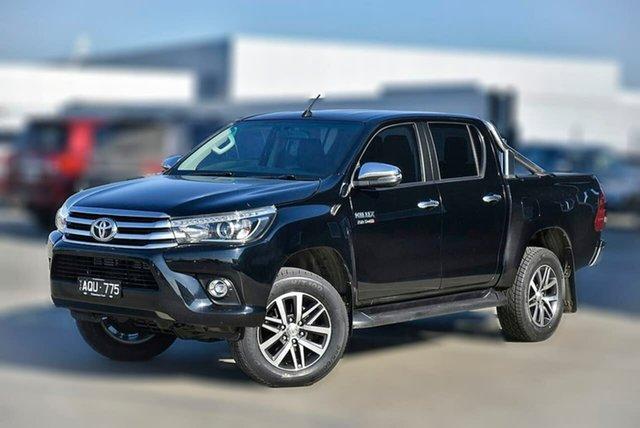Used Toyota Hilux GUN126R SR5 Double Cab Pakenham, 2017 Toyota Hilux GUN126R SR5 Double Cab 6 Speed Sports Automatic Utility