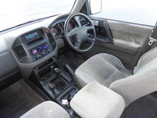 2000 Mitsubishi Pajero NM GLS LWB (4x4) Silver 5 Speed Manual 4x4 Wagon