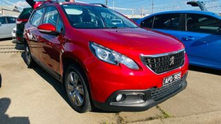 2017 Peugeot 2008 A94 MY17 Active Red 6 Speed Sports Automatic Wagon.