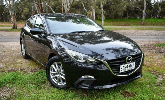 Used Mazda 3 BM5478 Neo SKYACTIV-Drive Ingle Farm, 2014 Mazda 3 BM5478 Neo SKYACTIV-Drive Black 6 Speed Sports Automatic Hatchback