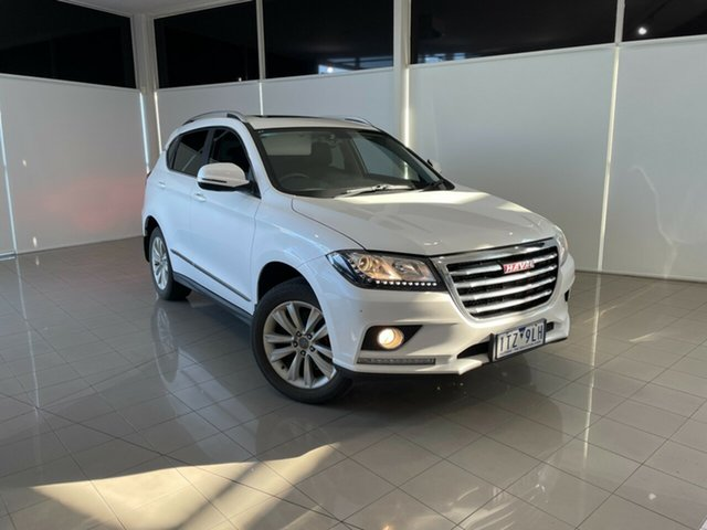 Used Haval H2 Lux 2WD Deer Park, 2017 Haval H2 Lux 2WD White 6 Speed Sports Automatic Wagon