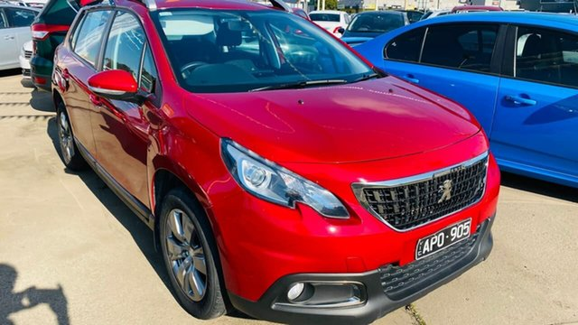 Used Peugeot 2008 A94 MY17 Active Maidstone, 2017 Peugeot 2008 A94 MY17 Active Red 6 Speed Sports Automatic Wagon