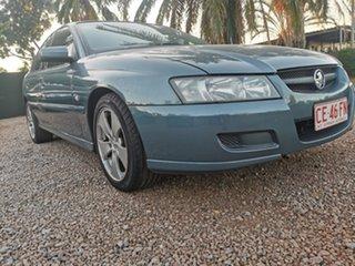 2005 Holden Calais VZ Blue 5 Speed Sports Automatic Sedan.