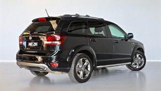 2015 Fiat Freemont JF MY15 Crossroad Black 6 Speed Automatic Wagon.