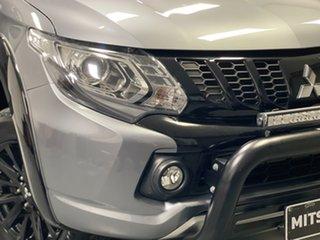 2018 Mitsubishi Triton MQ MY18 Blackline Double Cab Titanium 6 Speed Manual Utility.