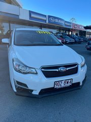 2015 Subaru Impreza G4 MY15 2.0i Lineartronic AWD Pearl White 6 Speed Constant Variable Hatchback.