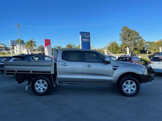 2015 Ford Ranger PX XLT Double Cab Silver 6 Speed Manual Utility.