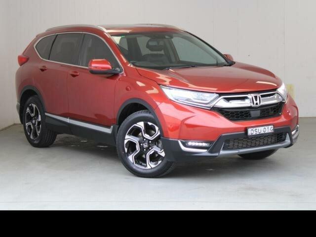 Used Honda CR-V MY18 VTi-LX (AWD) Fyshwick, 2017 Honda CR-V MY18 VTi-LX (AWD) Red Continuous Variable Wagon