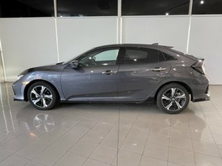 2019 Honda Civic 10th Gen MY20 RS Grey 1 Speed Constant Variable Hatchback