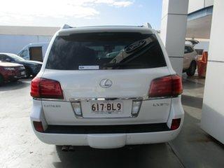 2008 Lexus LX570 URJ201R Sports Luxury White 6 Speed Automatic Wagon.