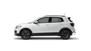 2021 Volkswagen T-Cross C1 MY21 85TSI DSG FWD Life Pure White 7 Speed Sports Automatic Dual Clutch.