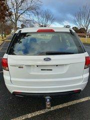 2011 Ford Territory SZ TX Seq Sport Shift White 6 Speed Sports Automatic Wagon.