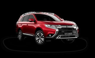 2021 Mitsubishi Outlander ZL MY21 LS 2WD Red Diamond 6 Speed Constant Variable Wagon.
