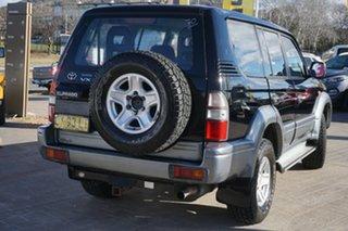 1998 Toyota Landcruiser Prado VZJ95R VX Grande Black 4 Speed Automatic Wagon