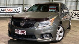 2012 Holden Cruze JH Series II MY13 SRi-V Grey 6 Speed Sports Automatic Hatchback.