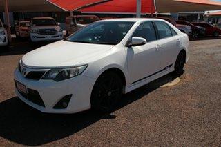 2014 Toyota Camry ASV50R RZ Diamond White 6 Speed Sports Automatic Sedan.