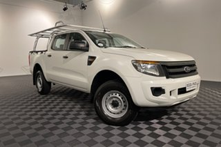 2015 Ford Ranger PX XL Hi-Rider Cool White 6 speed Automatic Utility.