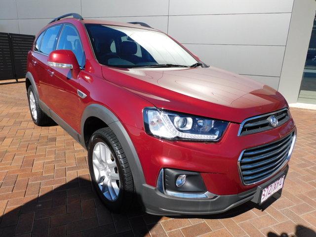 Used Holden Captiva CG MY17 Active 2WD Toowoomba, 2017 Holden Captiva CG MY17 Active 2WD Red 6 Speed Sports Automatic Wagon