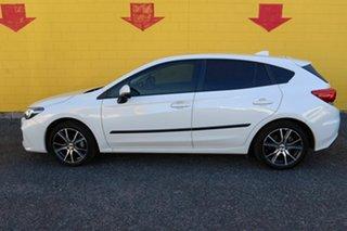 2017 Subaru Impreza G5 MY17 2.0i Premium CVT AWD White 7 Speed Constant Variable Hatchback