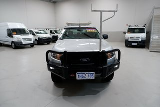 2017 Ford Ranger PX MkII XL Silver 6 Speed Sports Automatic Cab Chassis.