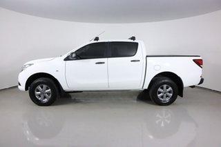 2017 Mazda BT-50 MY16 XT Hi-Rider (4x2) White 6 Speed Automatic Dual Cab Utility