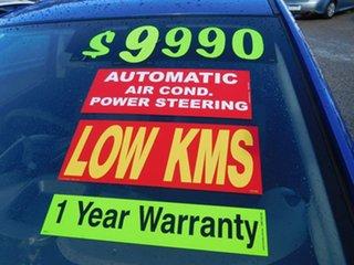 2013 Holden Barina TM MY13 CD Blue 6 Speed Automatic Hatchback