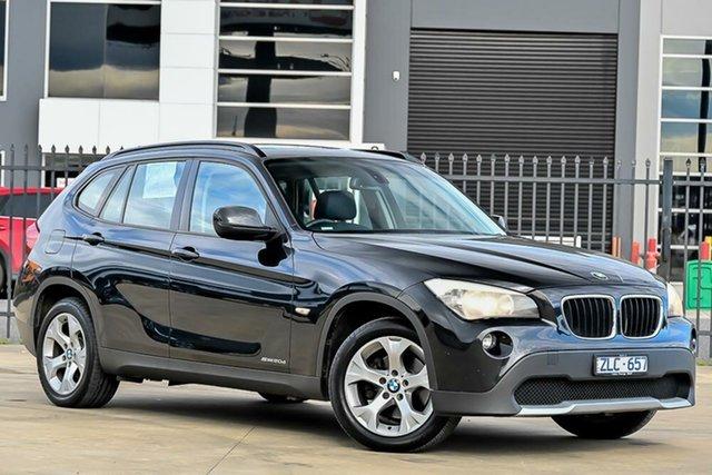 Used BMW X1 E84 MY0312 sDrive20d Steptronic Pakenham, 2012 BMW X1 E84 MY0312 sDrive20d Steptronic Black 6 Speed Sports Automatic Wagon