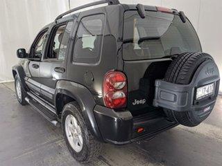 2007 Jeep Cherokee KJ MY2006 Sport Black 4 Speed Automatic Wagon