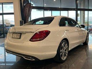 2016 Mercedes-Benz C-Class W205 807MY C200 7G-Tronic + White 7 Speed Sports Automatic Sedan