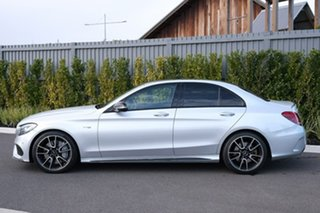 2017 Mercedes-Benz C-Class W205 807+057MY C43 AMG 9G-Tronic 4MATIC Silver 9 Speed Sports Automatic