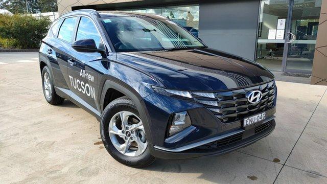 Demo Hyundai Tucson NX4.V1 MY22 2WD Tuggerah, 2021 Hyundai Tucson NX4.V1 MY22 2WD Deep Sea 6 Speed Automatic Wagon