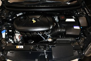2012 Hyundai Elantra MD2 Active Phantom Black 6 Speed Sports Automatic Sedan