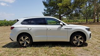 2021 Volkswagen Touareg CR MY21 210TDI Tiptronic 4MOTION R-Line Pure White 8 Speed Sports Automatic