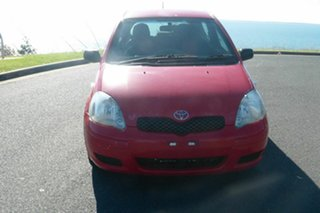 2005 Toyota Echo NCP10R MY03 Red 5 Speed Manual Hatchback