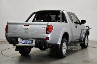 2013 Mitsubishi Triton MN MY13 GLX Club Cab Silver 5 Speed Manual Utility