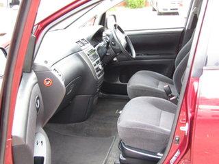 2008 Toyota Avensis Verso ACM21R GLX Burgundy 4 Speed Automatic Wagon