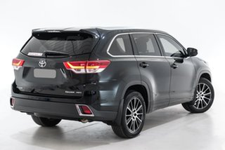 2018 Toyota Kluger GSU55R GXL AWD Black 8 Speed Sports Automatic Wagon.