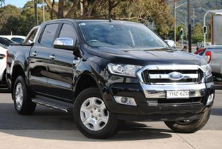 2018 Ford Ranger PX MkII 2018.00MY XLT Double Cab Black 6 Speed Sports Automatic Utility.