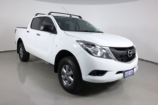 2017 Mazda BT-50 MY16 XT Hi-Rider (4x2) White 6 Speed Automatic Dual Cab Utility.